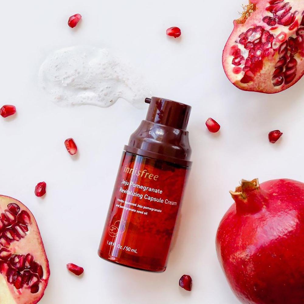 Kem Dưỡng Jeju Pomegranate Revitalizing Capsule Cream 50ml