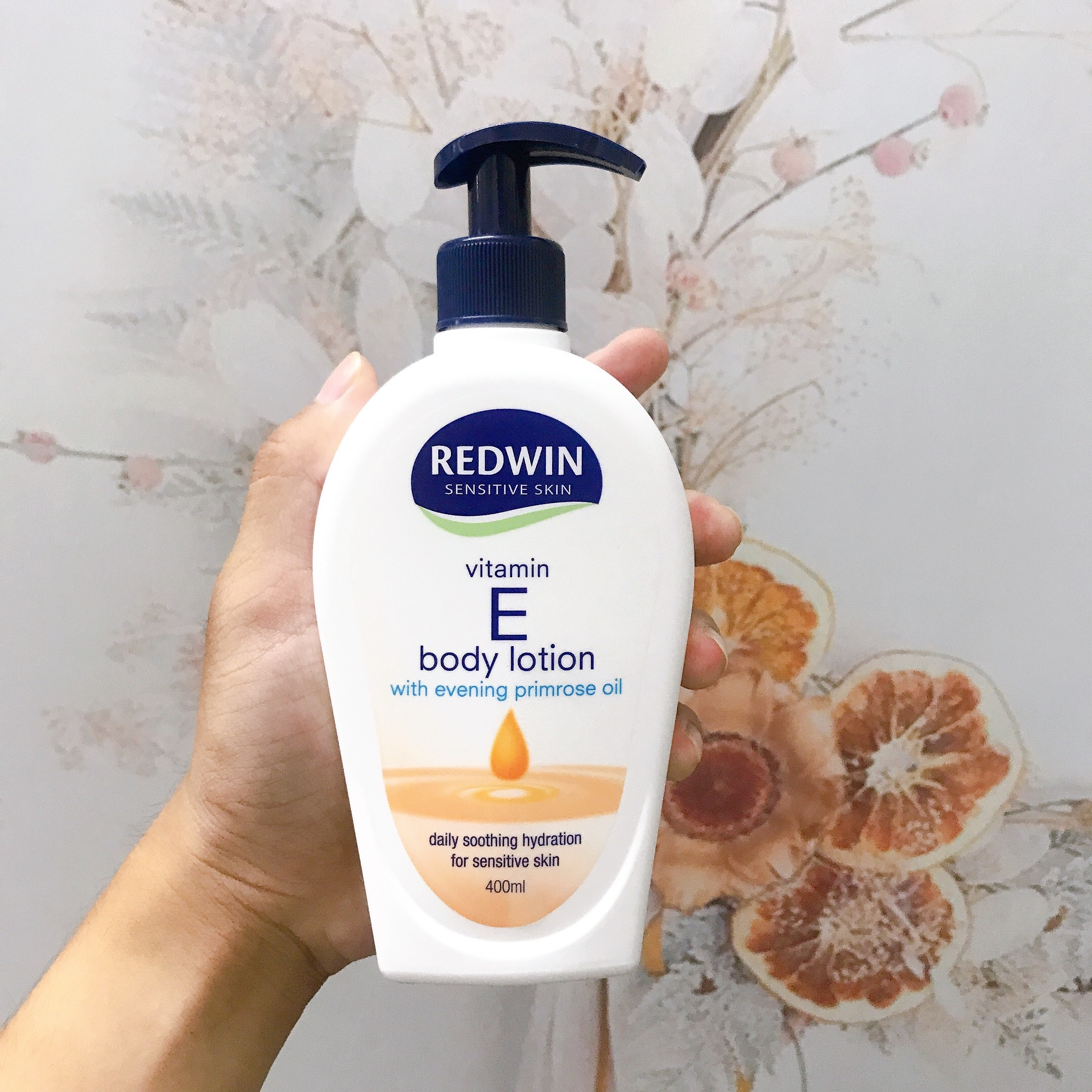 Sữa Dưỡng Thể Redwin Vitamin E Body Lotion With Evening Primrose Oil 400ml
