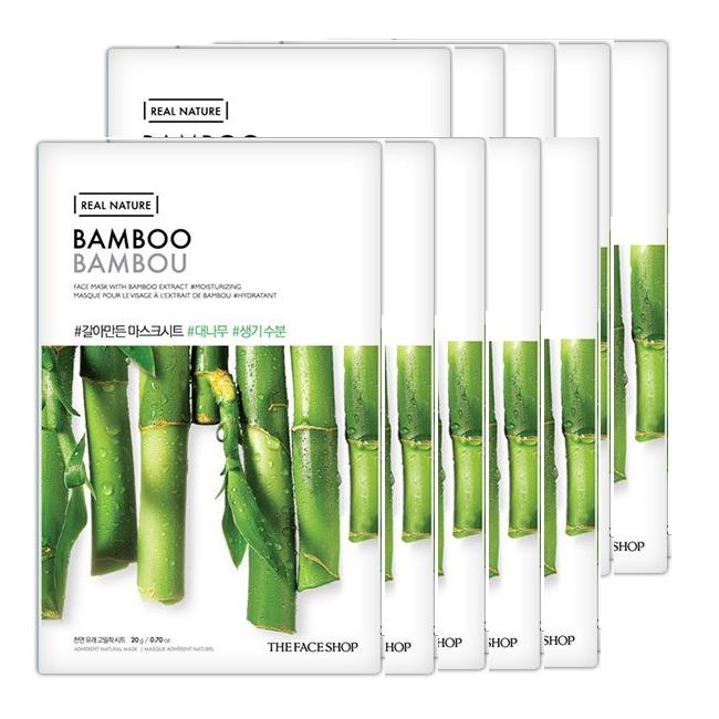Mặt Nạ TFS Real Natural #Bamboo