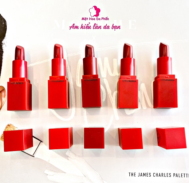 Son Set 3CE Red Recipe Lip Color Mini Kit 5 Cây