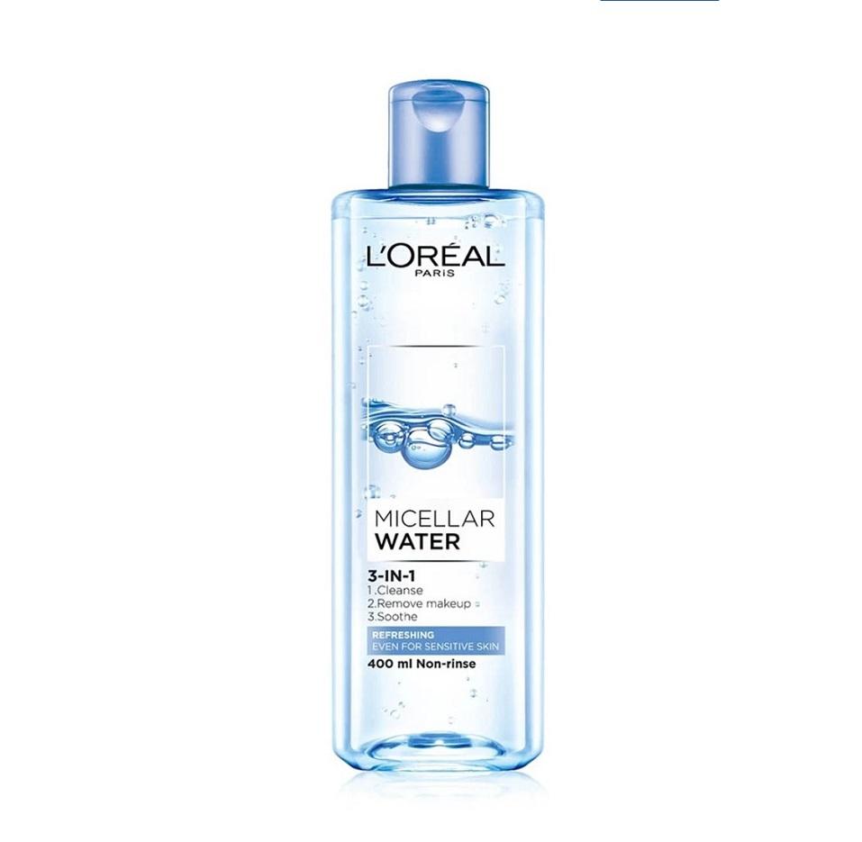 Tẩy Trang L'Oreal Micellar Water #Refreshing (Xanh) 400ML