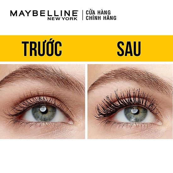 Mascara Maybelline Big Shot Dày Mi - Màu Đen 10Ml