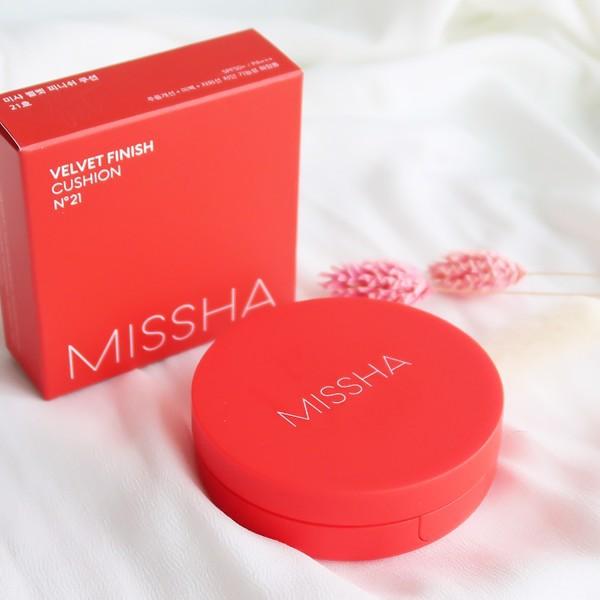 Cushion Missha Velvet Finish N21