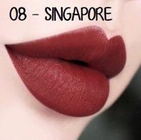 Son Yosuaa Matte Lipstick Version 2 #08 Singapore