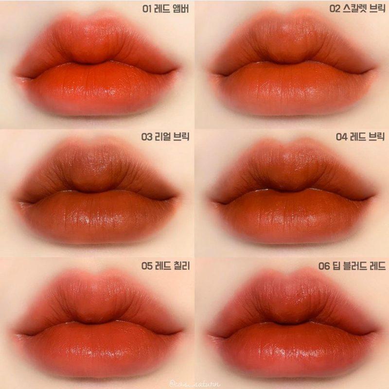 Son G9Skin First V-Fit Velvet Tint #05 Red Chili