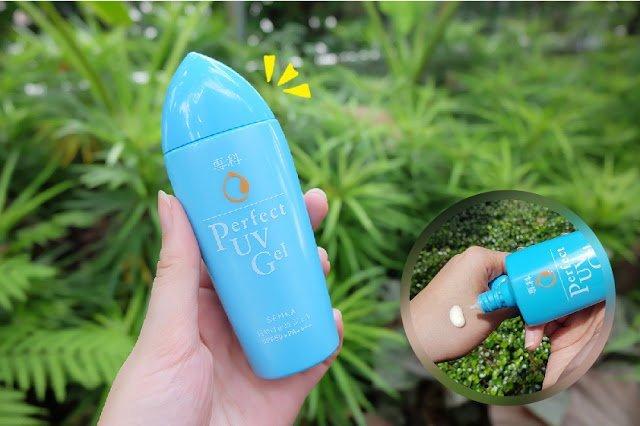 Gel Sữa Chống Nắng Senka Perfect UV Gel SPF50+ PA++++ 80ml