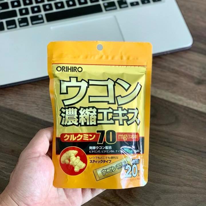 TPCN Bột Nghệ Giải Rượu Orihiro 20 gói