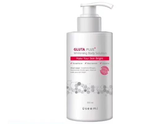 Sữa Dưỡng Trắng Body Useemi Gluta Plus Whitening Body Solution 300ml