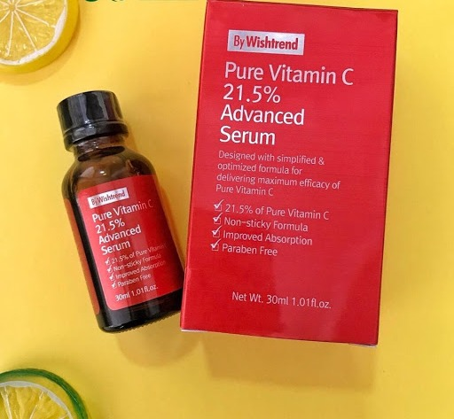 Tinh Chất Pure Vitamin C 21.5% Advanced 30Ml By Wishtrend