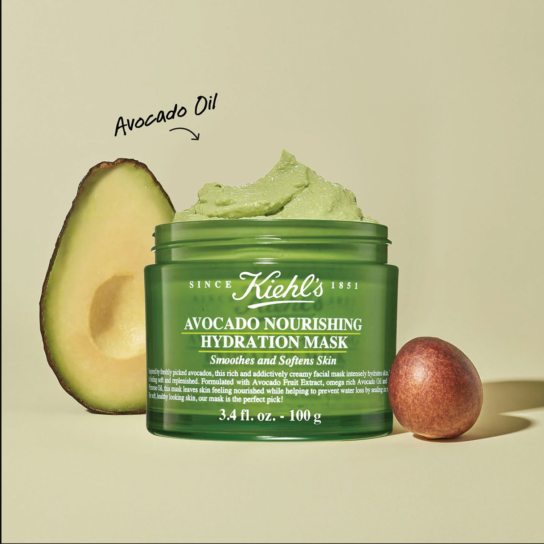 Mặt Nạ Kiehl's Avocado Nourishing Hydration Mask 10g
