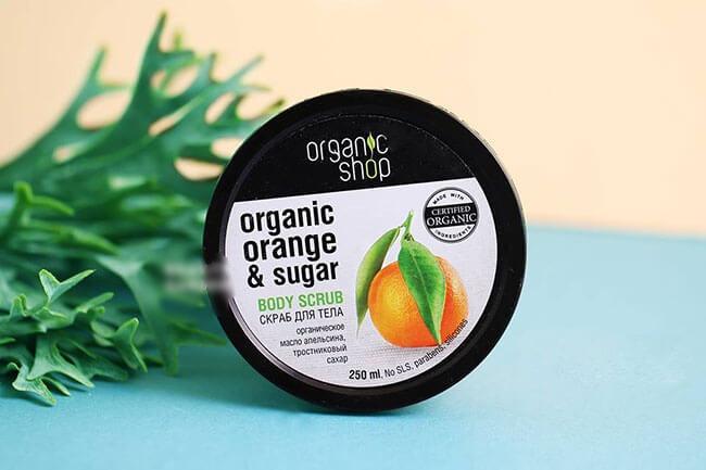 Tẩy TBC Body Organic Shop Orange & Sugar 250ml