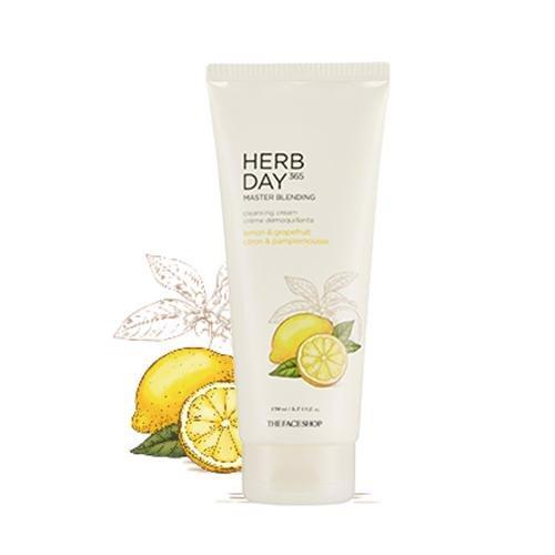 SRM TheFaceShop Herb Day 365 Master Blending Lemon & Grapefruit 170ml