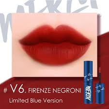 Son Merzy Be Your Self The First Velvet Tint V6 Firenze Negroni (Xanh Dương)
