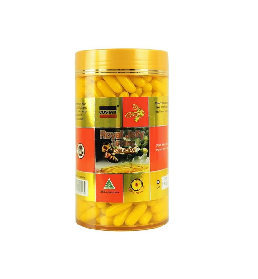 TPCN Sữa Ong Chúa Costar 1610Mg (365 Viên)