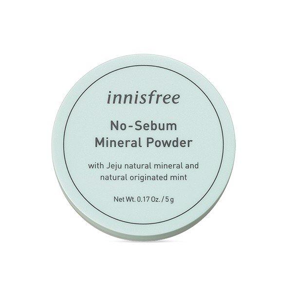 Phấn Phủ Innisfree No-Sebum Mineral Powder 5g
