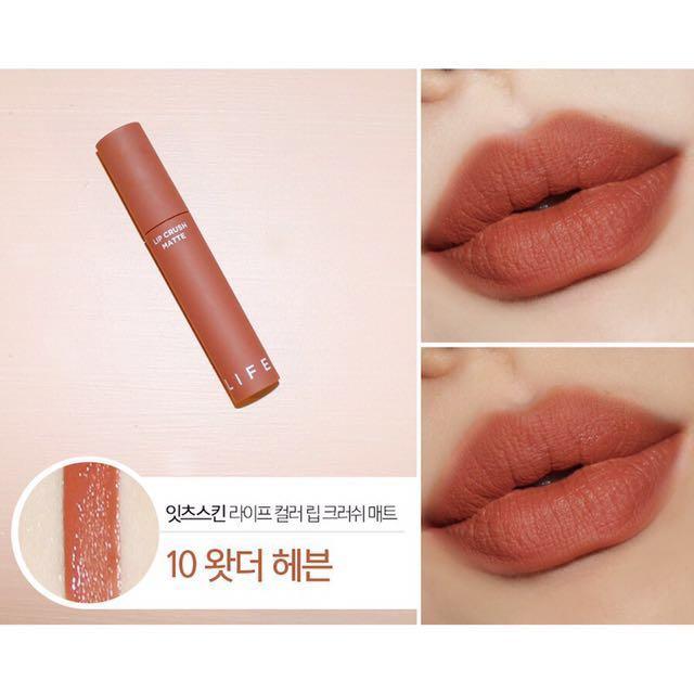 Son Kem It'S Skin Life Color Lip Crush Matte #10