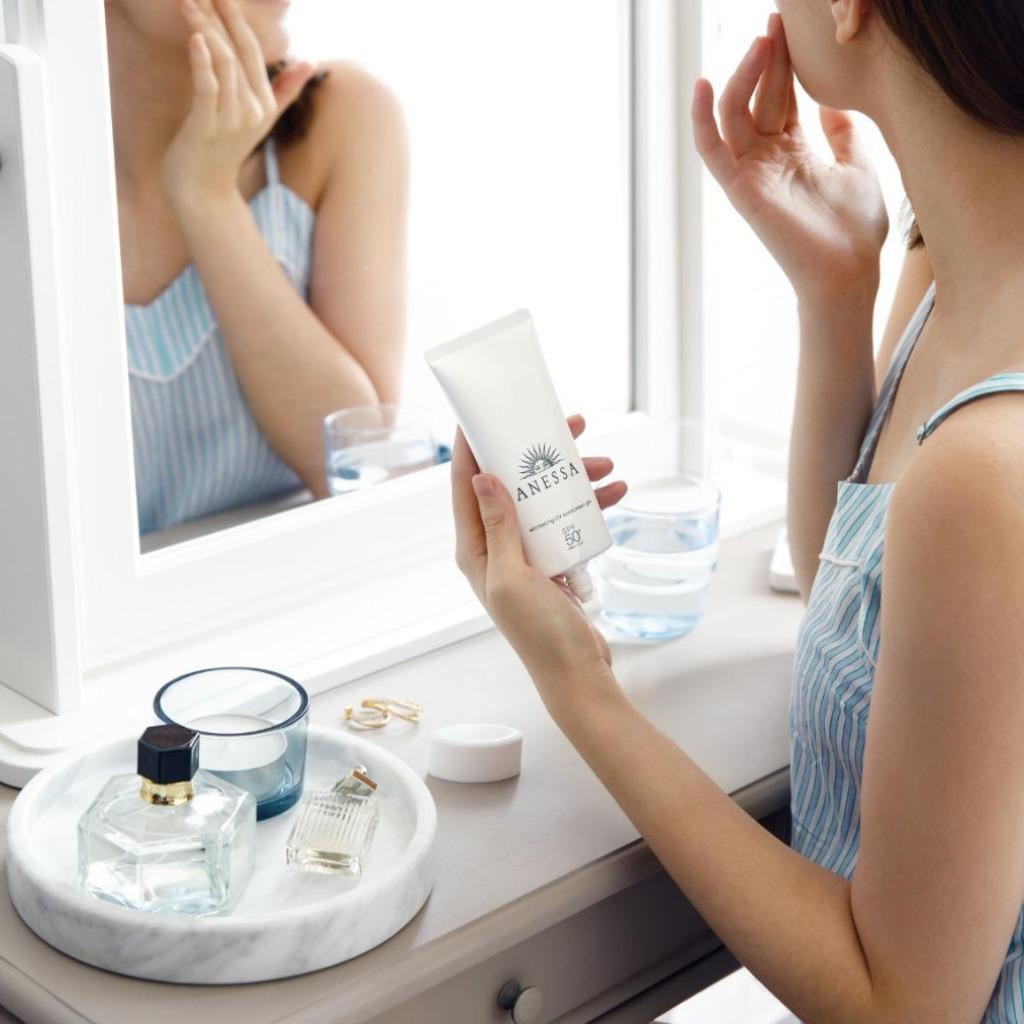 Gel Chống Nắng Anessa Whitening Uv Sunscreen Gel 90G