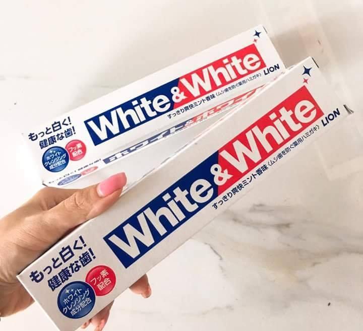 Kem Đánh Răng Lion White & White 150g