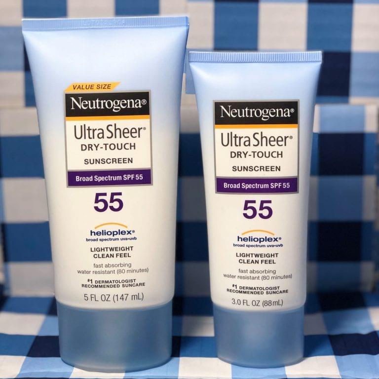 Chống Nắng Neutrogena Ultra Sheer Dry - Touch Sunscreen Spf 55 (88Ml)
