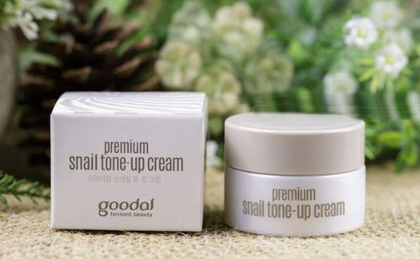 Kem Dưỡng Goodal Premium Snail Tone-Up 10ml