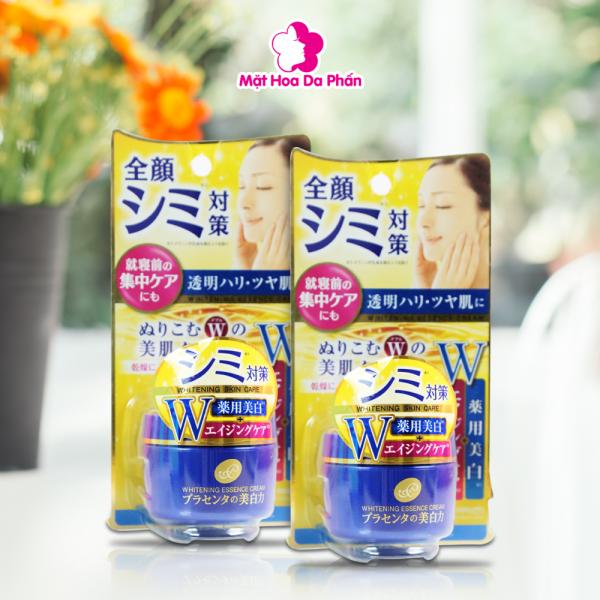Kem Dưỡng Meishoku Japan Placenta Medicated Whitening Essence Cream 55G