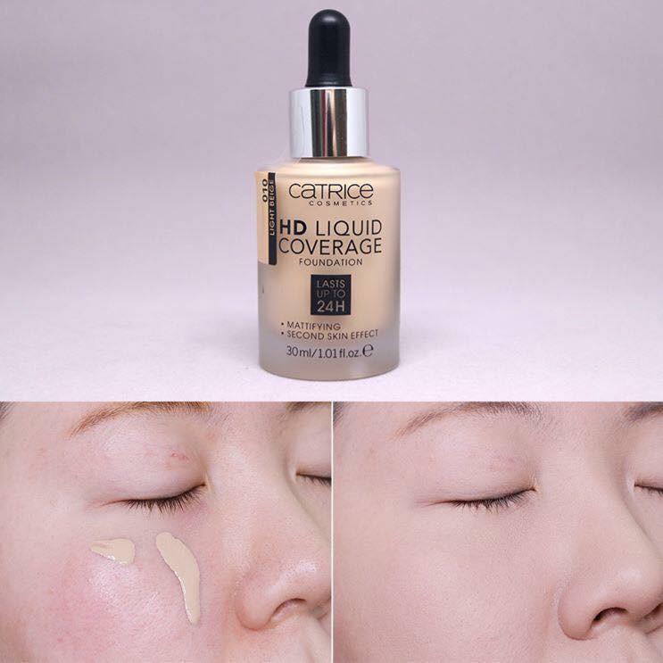 Kem Nền Catrice Hd Liquid Coverage 24H 020 30Ml
