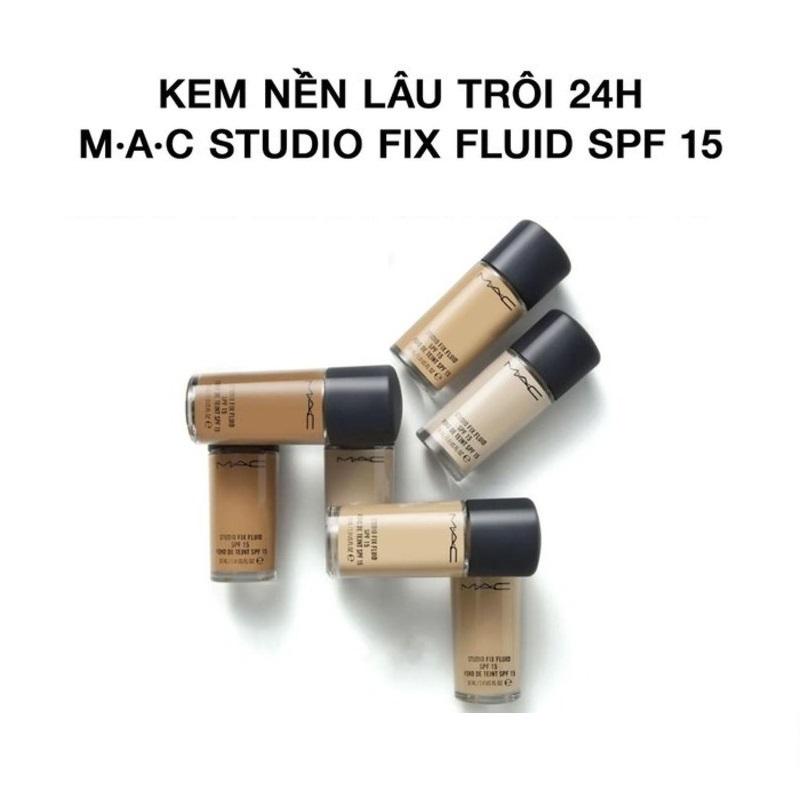 Kem Nền MAC Studio Fix Fluid SPF 15 #NC20