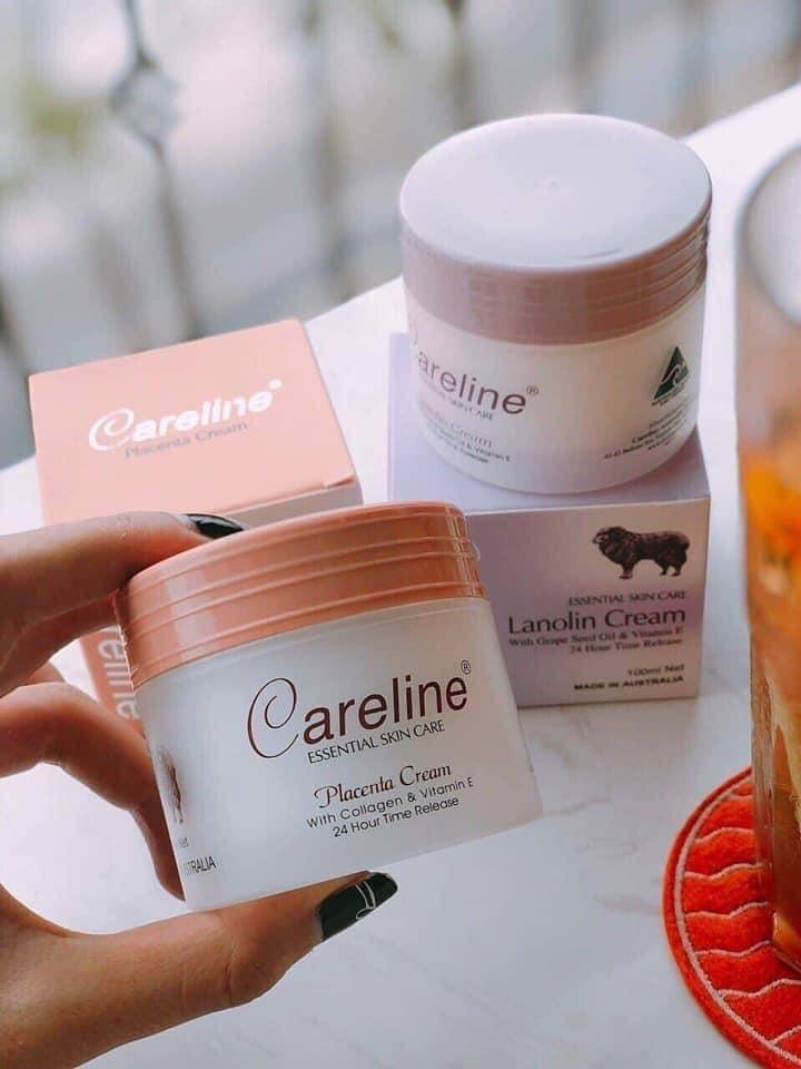 Kem Dưỡng Careline Placenta Cream 100ml (Hộp Cam)