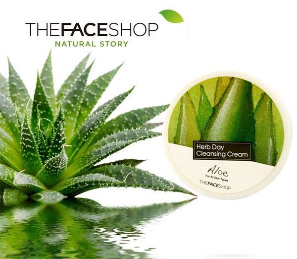 Tẩy Trang Herb Day Thefaceshop Aloe