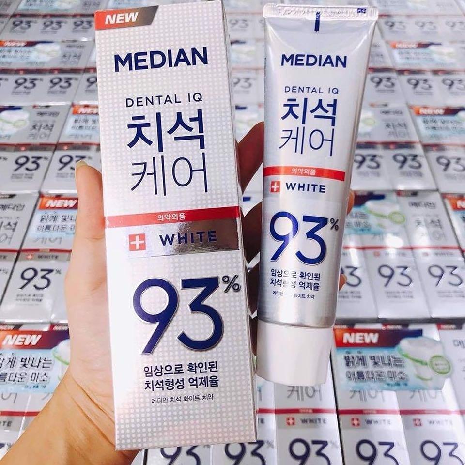 Kem Đánh Răng Median 93% Trắng