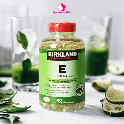 TPCN Kirkland Vitamin E 180Mg (500 Viên)