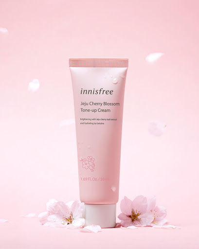 Kem Dưỡng Innisfree Jeju Cherry Blossom Tone-up Cream 50ml (Tuýp)