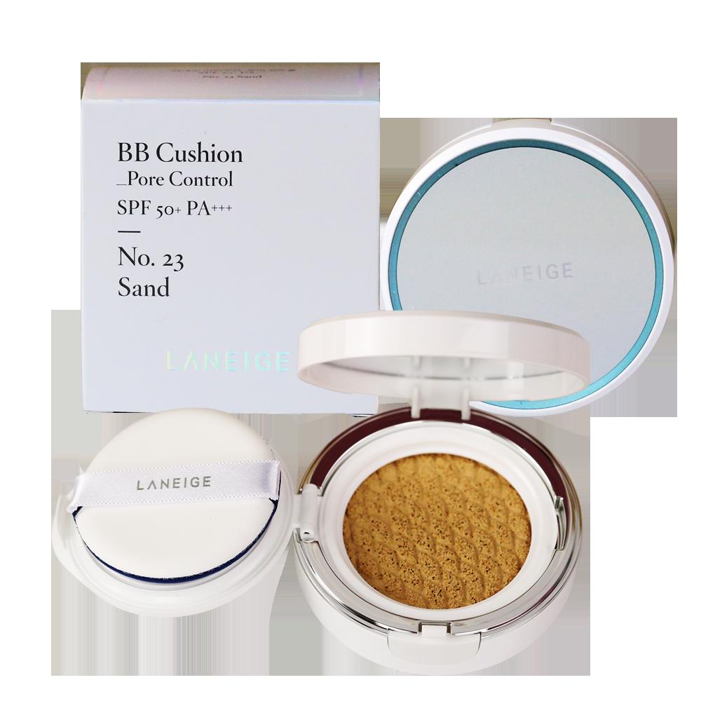 Phấn Nước Kiềm Dầu Laneige BB Cushion Pore Control SPF50+ PA+++ No.23 Sand 15g