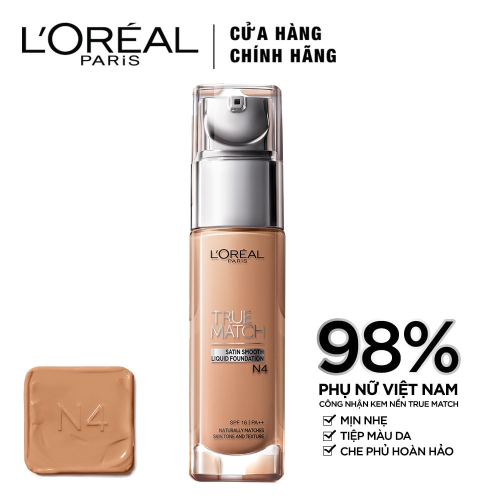 Kem Nền L'Oreal True Match Liquid N4