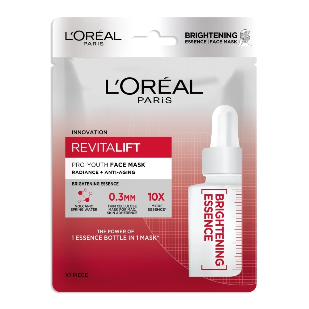 Mặt Nạ L'Oreal Revitalift Pro-Youth Face Mask #Trắng Sáng Da