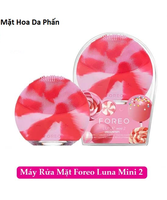 ACC Máy rửa mặt FOREO Luna MIni 2 Lollipop Pink (cái)