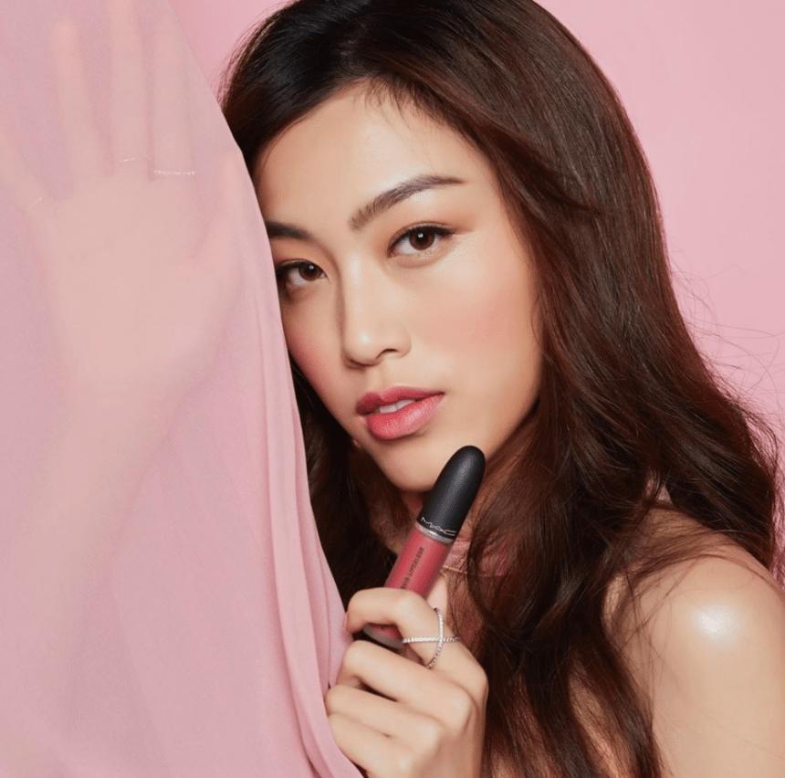 Son Kem Mac Powder Kiss Liquid Lipcolour Màu 988- A Little Tamed