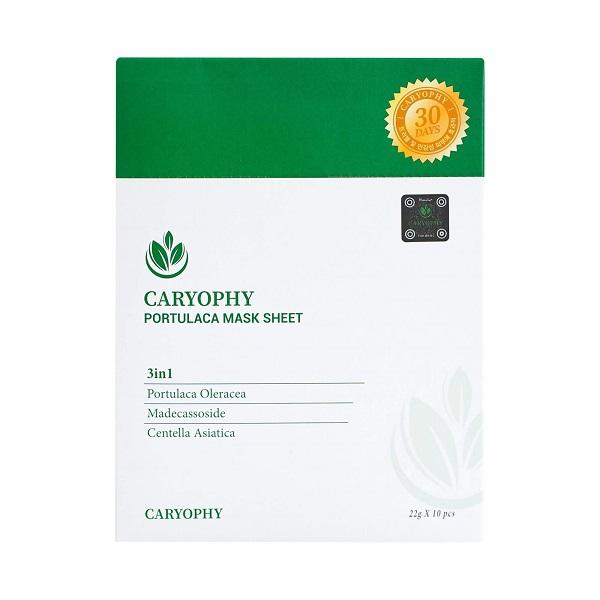 Mặt Nạ Trị Mụn Chuyên Sâu Caryophy Portulaca Mask Sheet 3In1 22g