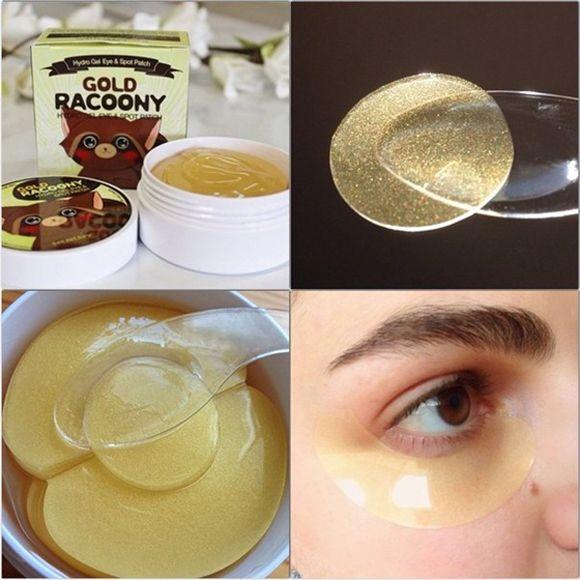 Mặt Nạ Mắt Secret Key Gold Racoony Hydrogel Eye & Spot Patch (Xanh)