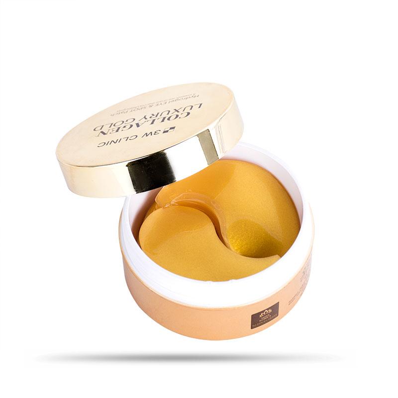 Mặt Nạ Mắt Đặc Trị Thâm Quầng 3W Clinic Collagen Luxury Gold 90g