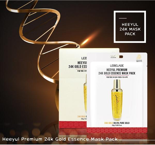 Mặt Nạ Lebelage 24k Gold Essence Mask Pack
