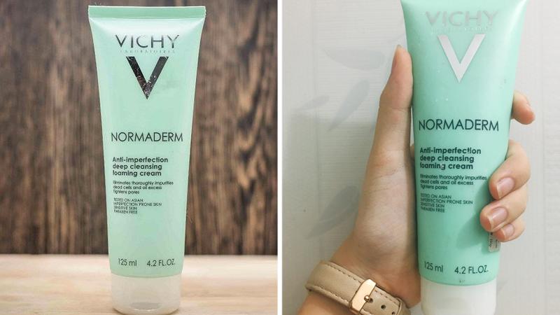Sữa Rửa Mặt Vichy Anti Imperfection Deep Cleansing Foaming Cream 125ml