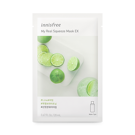 Mặt Nạ Innisfree My Real Squeeze Mask EX #Lime