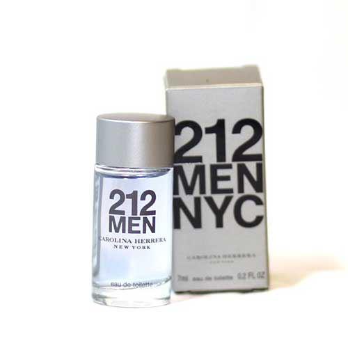 Nước Hoa Carolina Herrera 212 Men NYC EDT 7ml