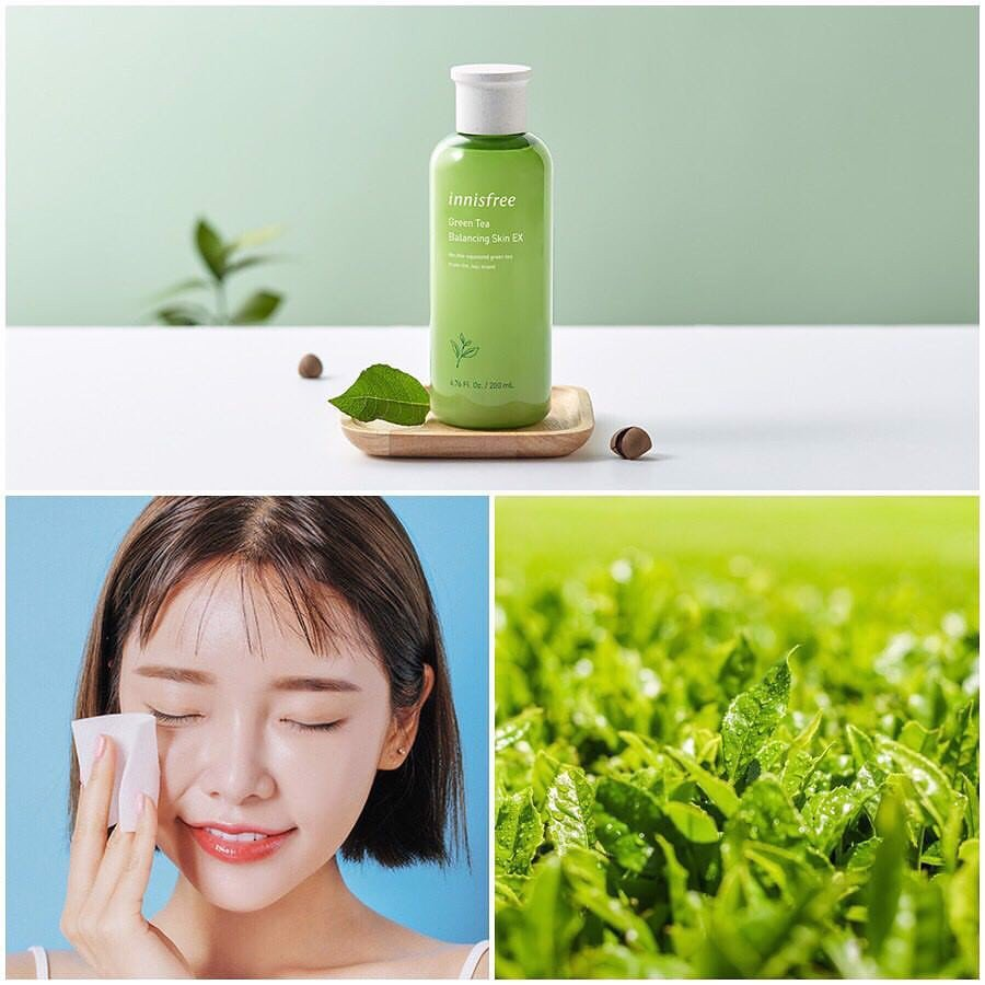 Nước Cân Bằng Innisfree Green Tea Balancing Skin EX 200ML