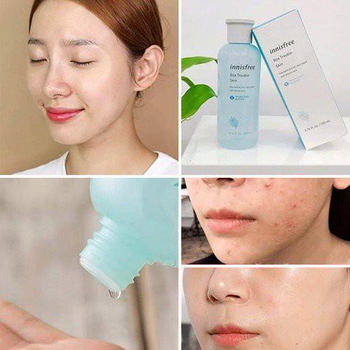 Nước Hoa Hồng Dành Cho Da Mụn Bija Trouble Skin Innisfree 200ml
