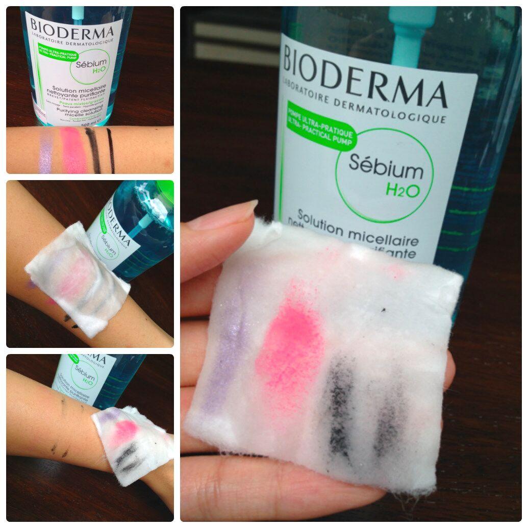 Tẩy Trang Bioderma Sebium H20 Xanh Lá 500ml