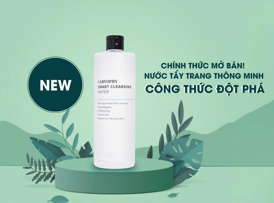 Nước Tẩy Trang Caryophy Smart Cleansing Water 300ml