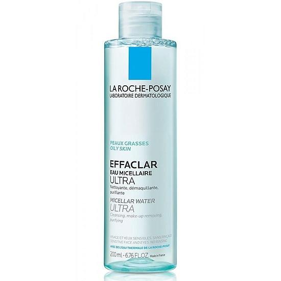 Tẩy Trang La Roche-Posay Effaclar Micellar Water Ultra 200ml CTY