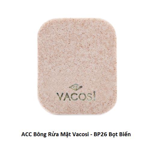 ACC Bông Rửa Mặt Vacosi - BP26 Bọt Biển